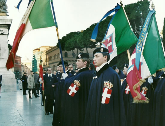 Guardia d'Onore al Pantheon